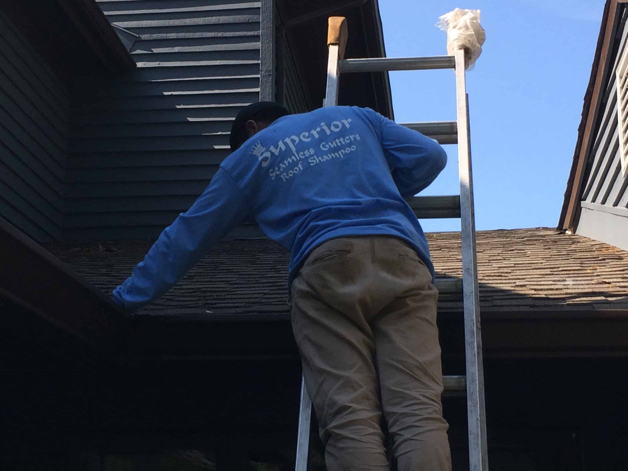 Gutter Cleaning by Superior Seamless Gutters