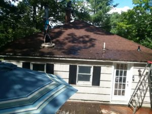 Roof Cleaning in Blauvelt NY by Superior Seamless Gutters