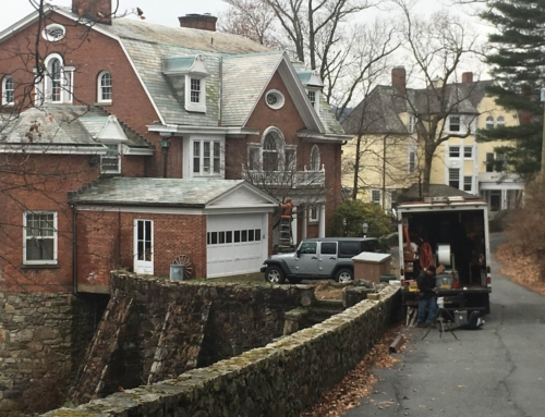 Gutter Cleaning and Repair at a Home in Tuxedo Park, New York