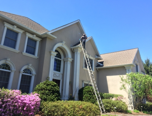 Roof Cleaning and Power Washing of a Home in Mahwah, New Jersey