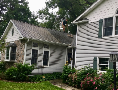 Roof Cleaning in West Nyack, New York