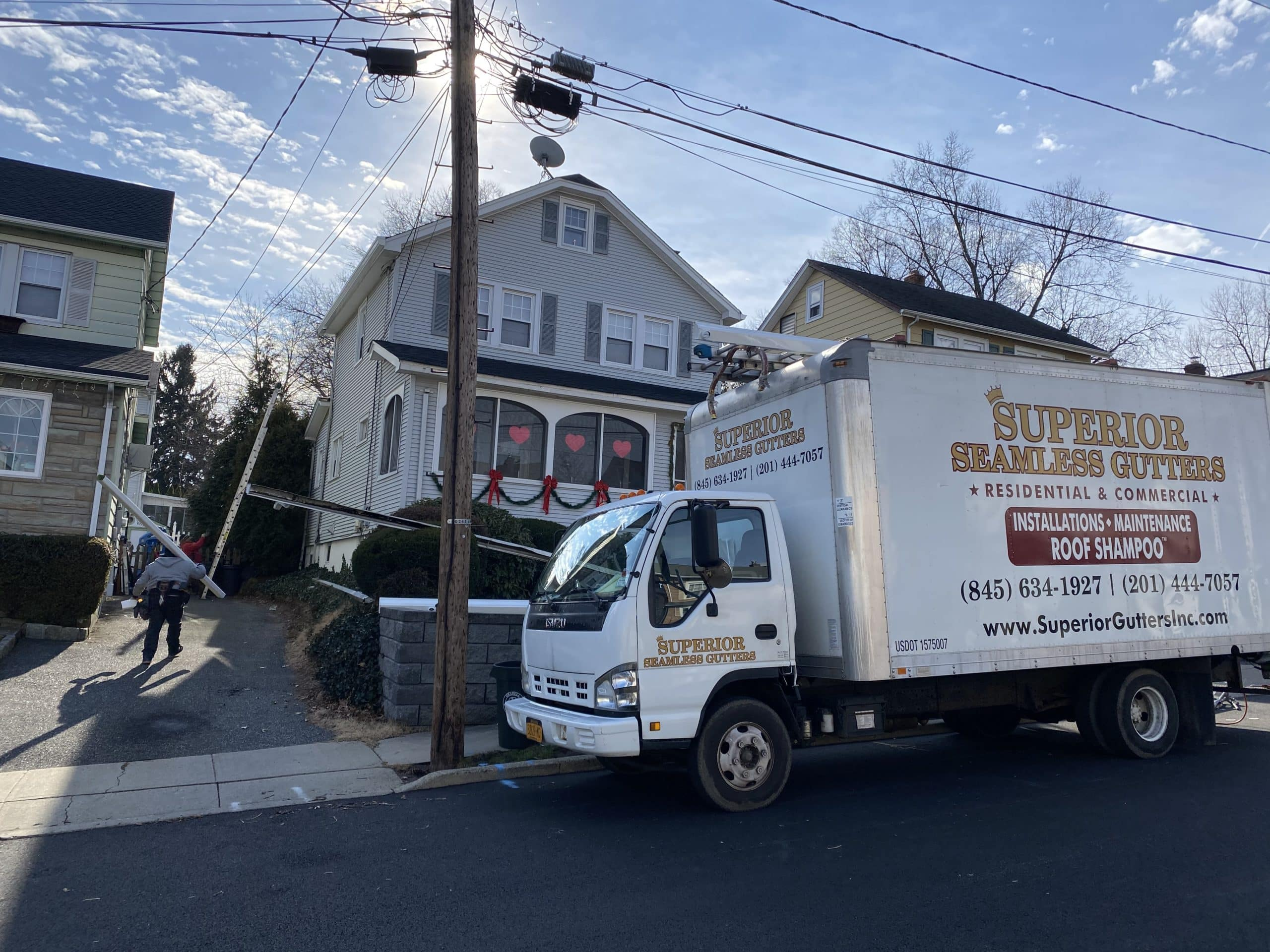 gutters and gutter covers installation in oradell nj by superior seamless gutters