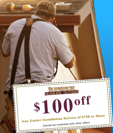 $100 Off Gutter Installation