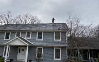 roof cleaning in rockland county ny by superior seamless gutters
