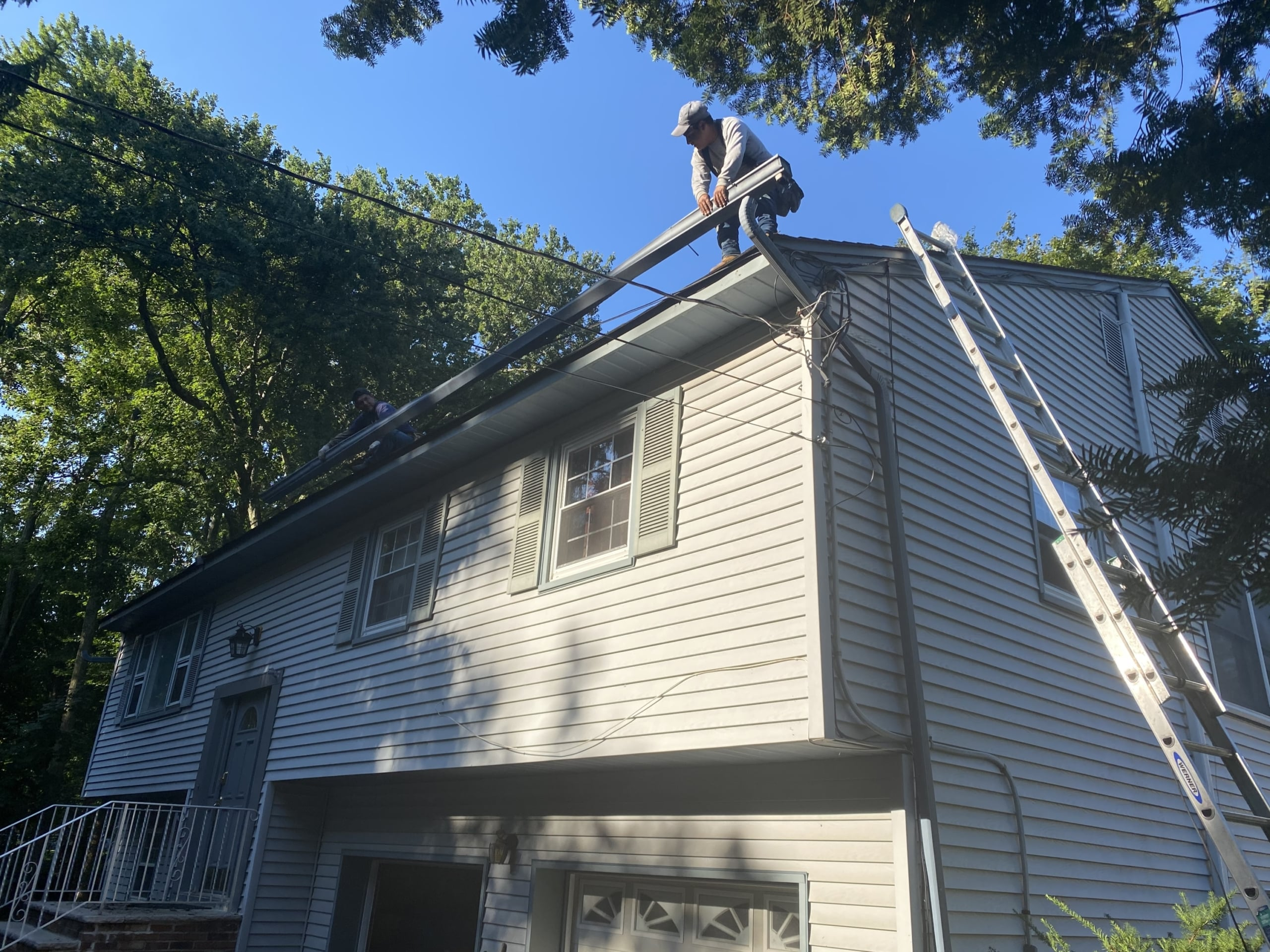 gutter replacement in bergen county by superior seamless gutters