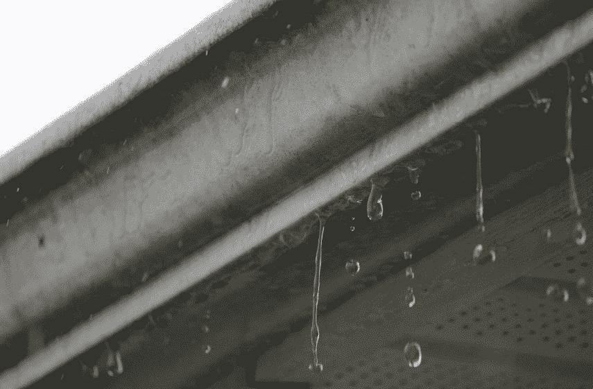 gutters overflowing
